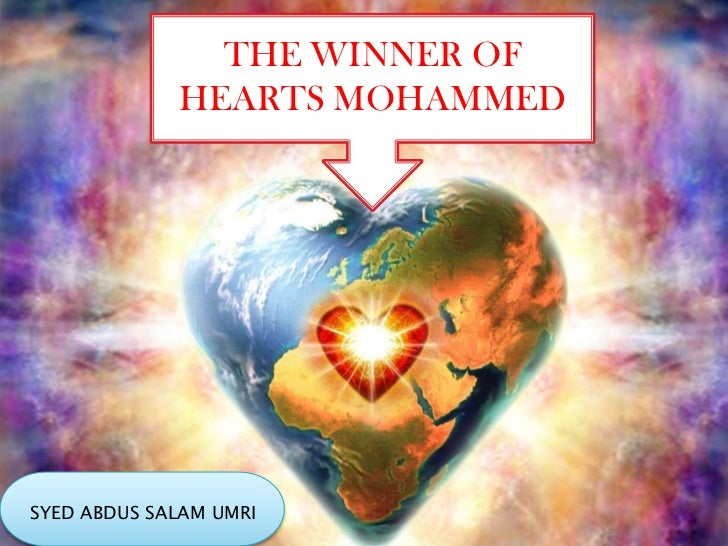 THE WINNER OF             HEARTS MOHAMMEDSYED ABDUS SALAM UMRI
