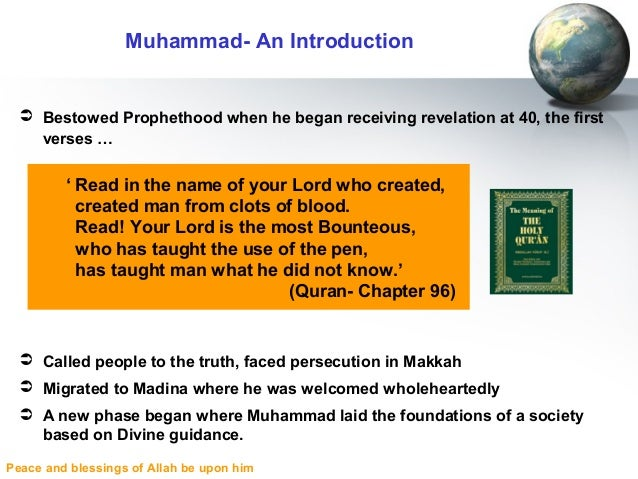 an introduction to the mythology of muhammad So mythology blends into and is would have served as a sort of introduction to the mystical beliefs of their muhammad when he was interviewed at.