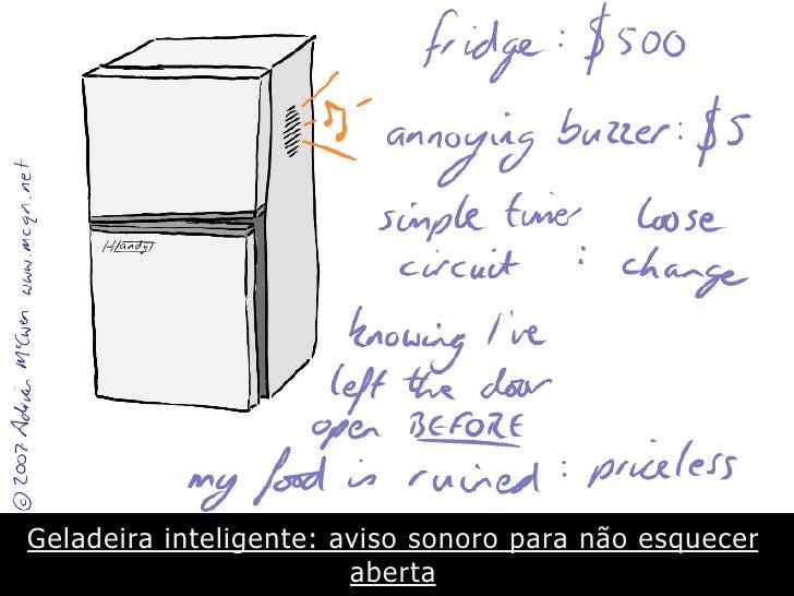 Muito alem da geladeira internet das coisas e design de for Das design des esszimmers
