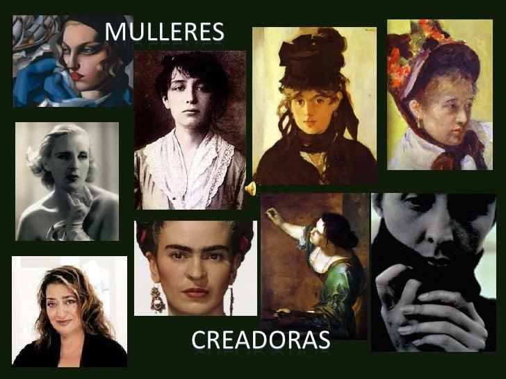 Mulleres<br />creadoras<br />