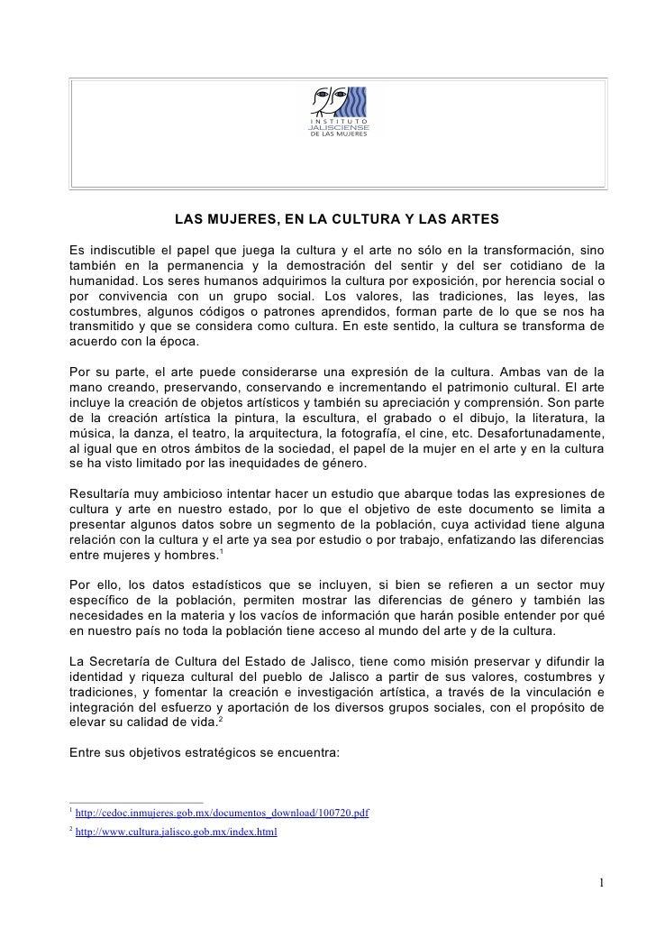 """BOLETÍN ESTADÍSTICO IJM                    """"GENERANDO INFORMACIÓN EN GÉNERO""""                           LAS MUJERES, EN LA ..."""