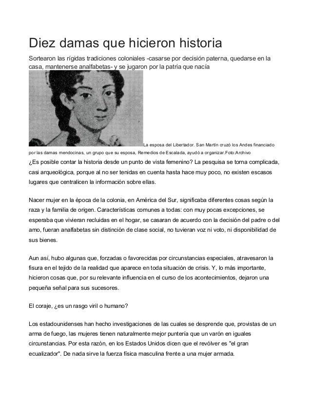 Mujeres En La Revolución