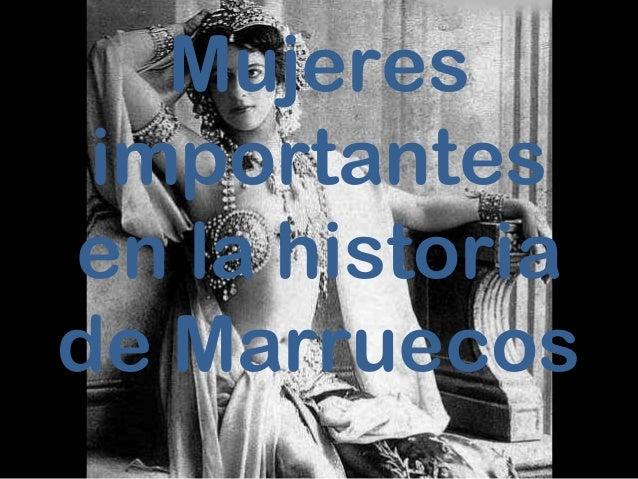 Mujeres importantes en la historia de Marruecos