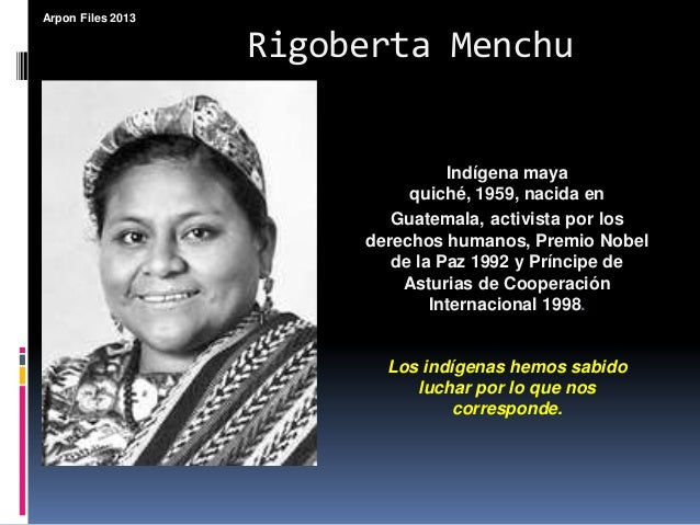 a review of i rigoberta menchu an autobiography of rigoberta menchu I, rigoberta menchu: librarything review this was an interesting autobiography, or testimonial as rigoberta calls it, but hard to read.