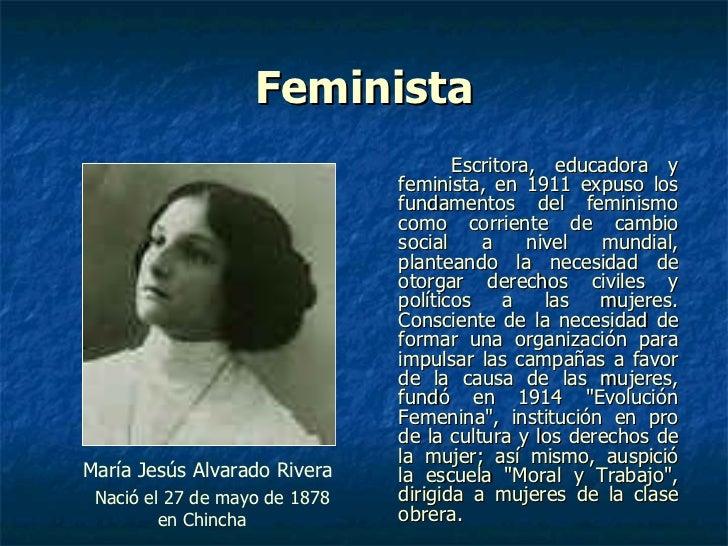 Resultado de imagen para Fotos de María Jesús Alvarado Rivera