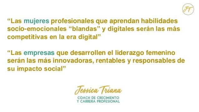 """""""Las mujeres profesionales que aprendan habilidades socio-emocionales """"blandas"""" y digitales serán las más competitivas en ..."""