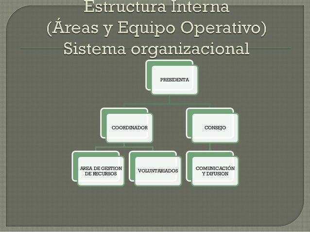 PRESIDENTA COORDINADOR AREA DE GESTION DE RECURSOS VOLUNTARIADOS CONSEJO COMUNICACIÓN Y DIFUSION