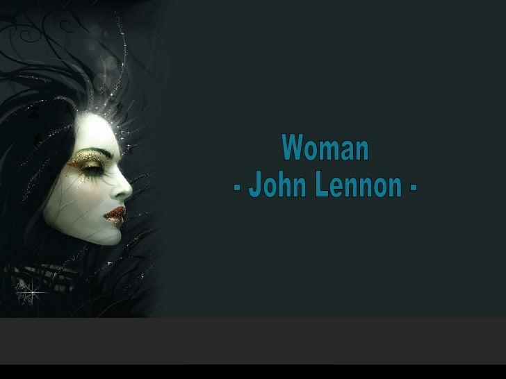 Woman - John Lennon -