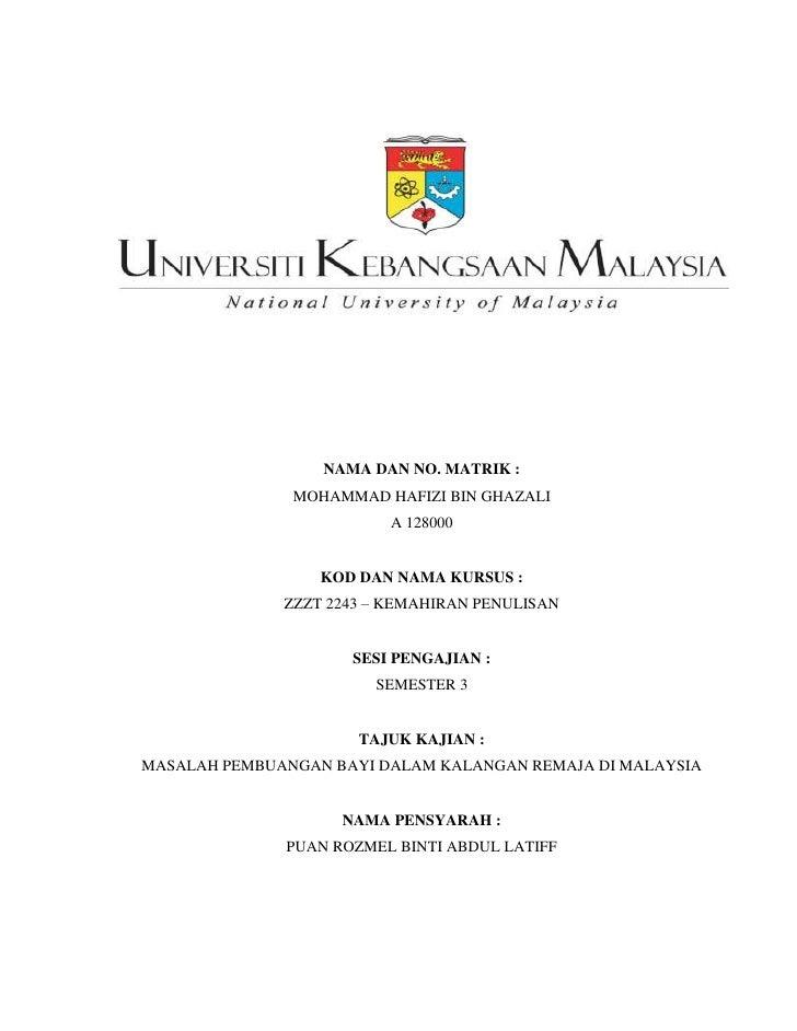 Gaya thesis ukm