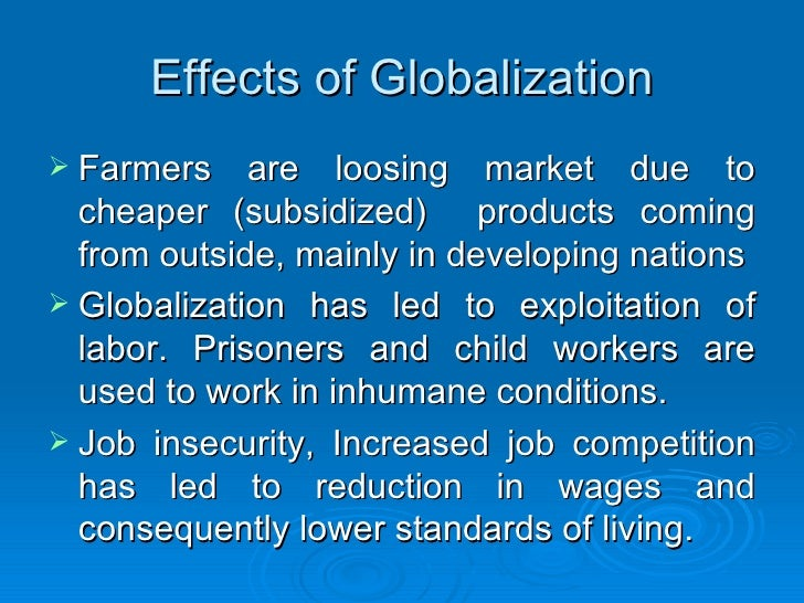 child workers globalization and international business Management chapter 17 globalization and international business 17 temrs employ workers at very low wages for long hours in poor conditions child labor.
