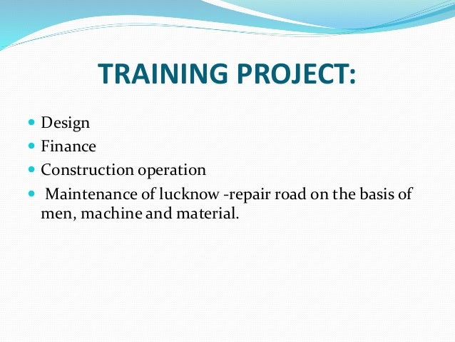 DESIGN:  Design is strategy in getting appropriate projects scope fitted to specific project purpose and need.  Design u...