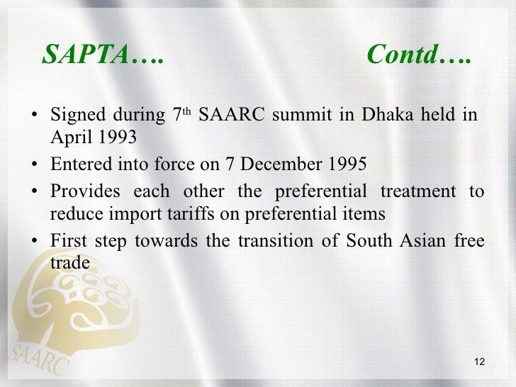 A Journey Towards SAFTA_Mukesh