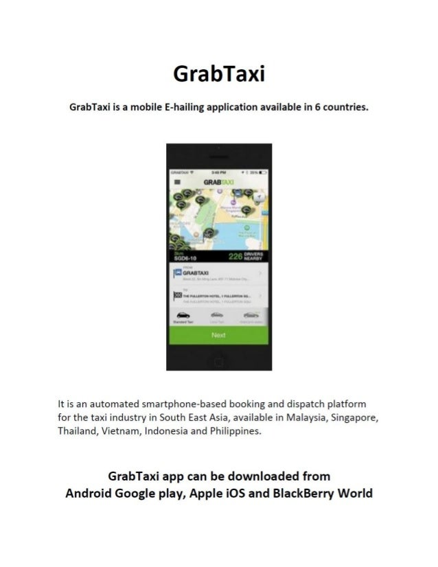 Click here to read about GrabTaxi's newest investor.