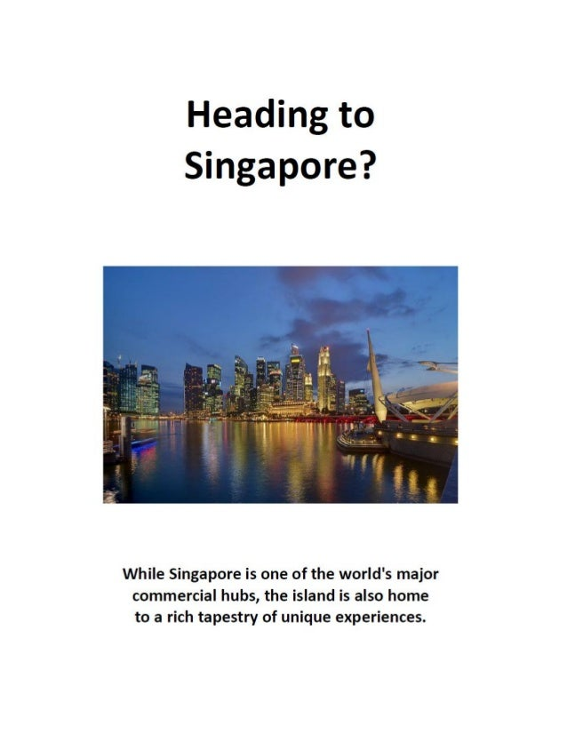 Click here to learn about the booming commercial real estate market in Singapore.
