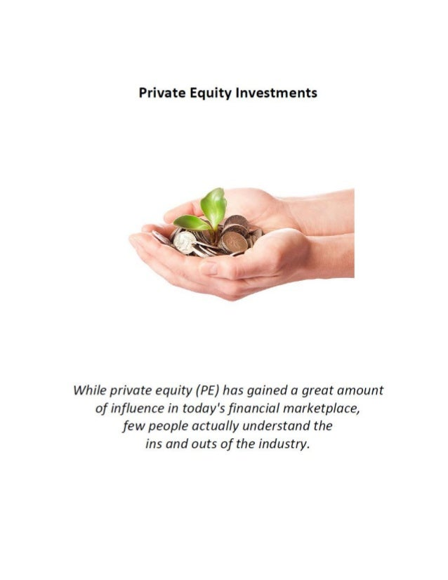 Click here to learn more about private equity.