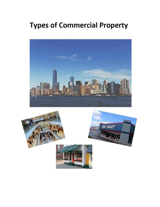 Commercial Property Types : Mukesh valabhji types of commercial property