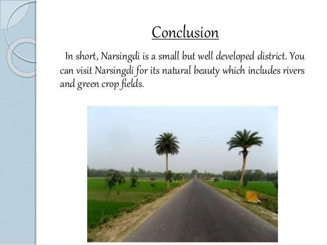 Presentation on Narsingdi, Bangladesh