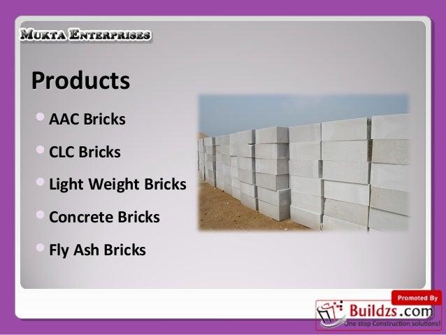 Clc Bricks Suppliers By Mukta Enterprises