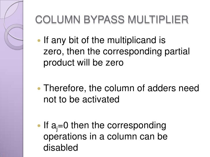 Mac Unit Using Different Multipliers