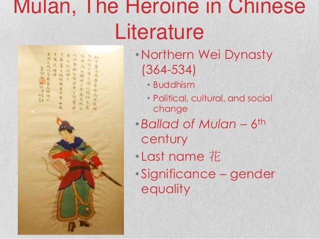 historical accuracies of mulan In the ancient texts, it was described that mulan grew up knowing martial arts and was well-versed in tactical warfare which disney didn't follow, but altogether, i thought disney's message that out of sheer love for her father, she, through vigorous training and discipline, went from bottom to top - hard work prevails - was a good message.