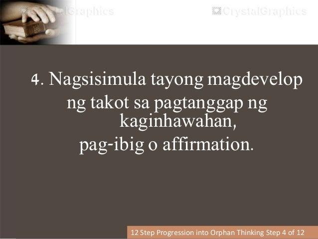 5. Ang ating spirito ay nagsasara. (ang ating emotional realm ay naglalagay ng harang o pader.) Nararamdaman lamang natin ...