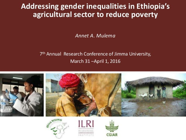 Addressing gender inequalities in Ethiopia's agricultural sector to r…