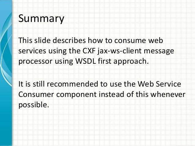 Consume Web Service