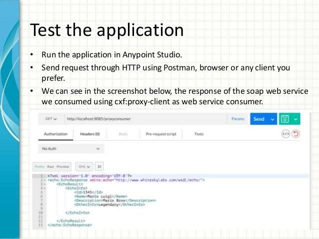 MuleSoft Consuming Soap Web Service - CXF Proxy-Client Module