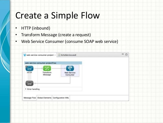 how to create a web service consumer