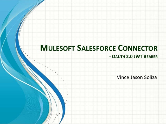 Mulesoft Salesforce Connector - OAuth 2 0 JWT Bearer