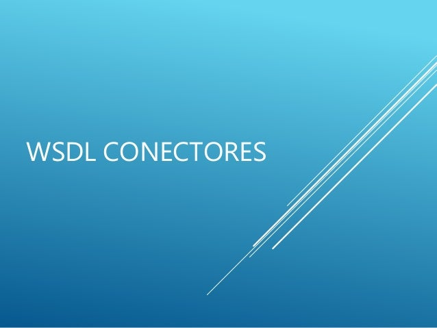 Mule soft wsdl conectores