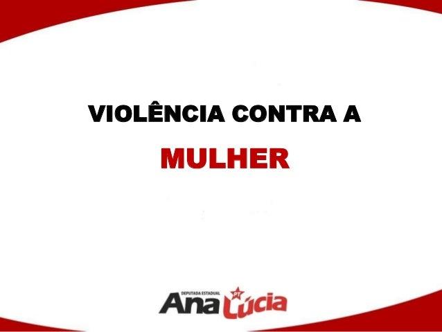 VIOLÊNCIA CONTRA AMULHER