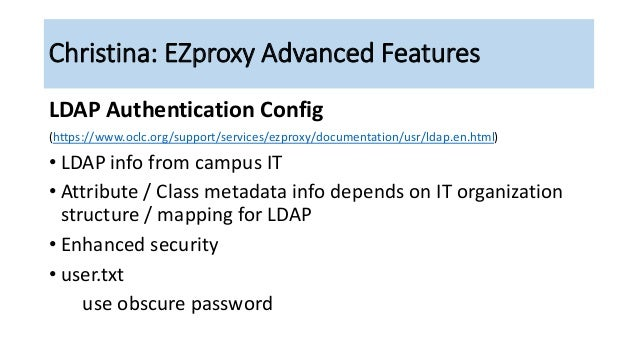 EZproxy Adventures: No Passport Required