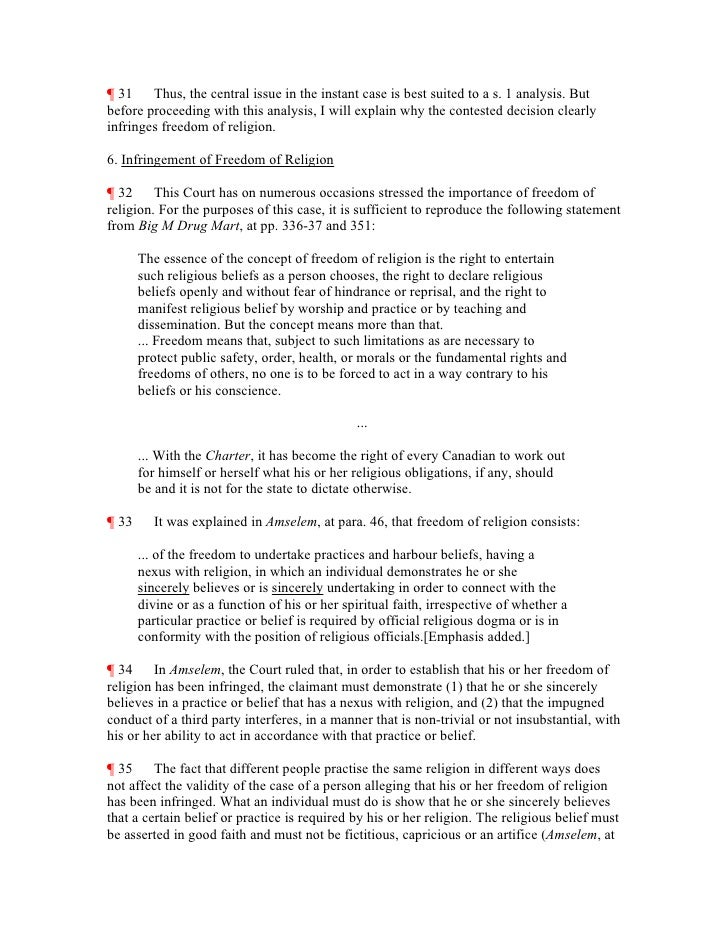 "r v multani law factom Constitutional law — charter of rights — reasonable limit — law — administrative decision — infringement of guaranteed right resulting from decision of administrative body acting pursuant to its e nabling statute — whether infringement limit prescribed by ""law"" within meaning of s 1 of canadian charter of rights and freedoms."
