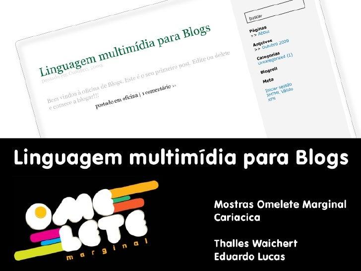 Construção de Blogs - Cariacica