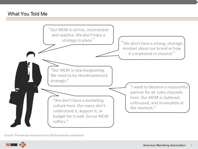 Multi channel marketing strategy - i Slide 2