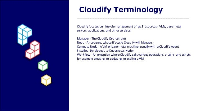Multi cloud orchestration for kubernetes with cloudify cloudify terminology malvernweather Gallery