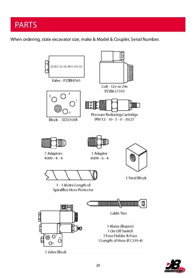 multi coupler jb parts list 30