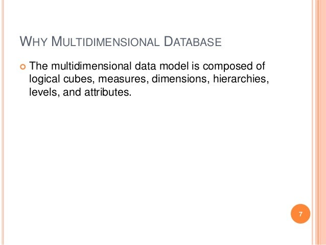 multidimensional data model essay Semi-structural data and xml single and multidimensional index schema  essay instructions: 1 what is a data model and what is data modeling.