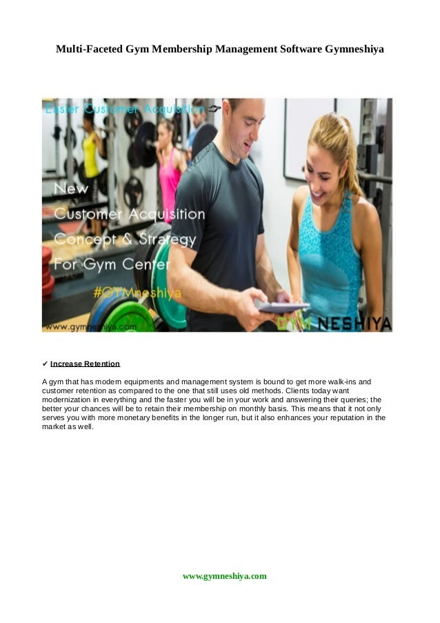 gym membership information system Whether you're managing a gym, club, or any other type of membership-model business, mis can help grow your business.