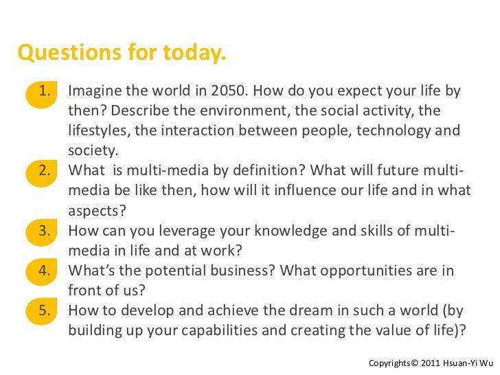 Future of multimedia