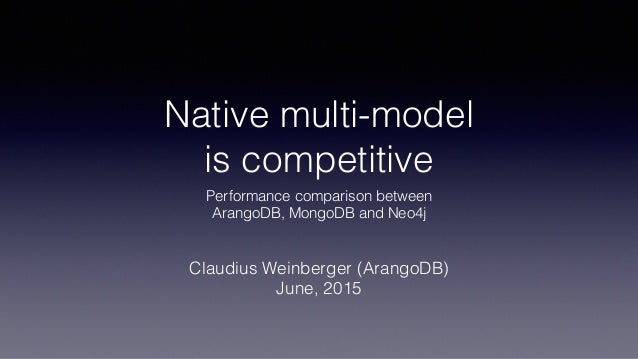 Native multi-model 