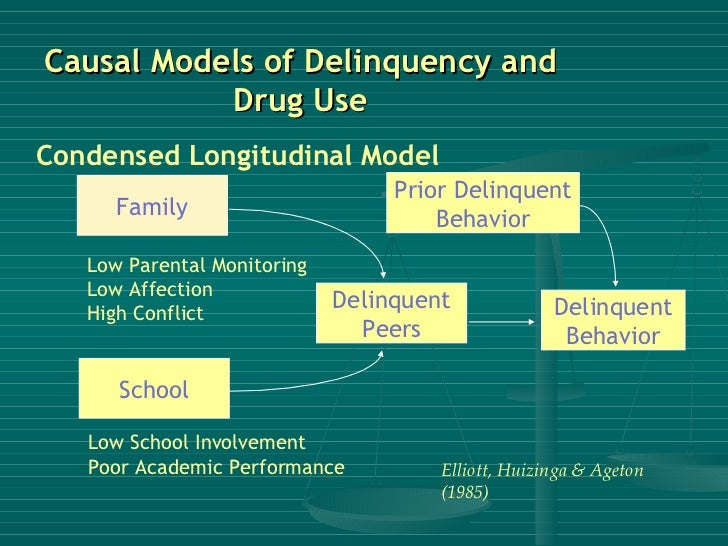 drug use and delinquency Using agnew's general strain theory to explain  using agnew's general strain theory to explain the relationship between early  drug use, and delinquency.