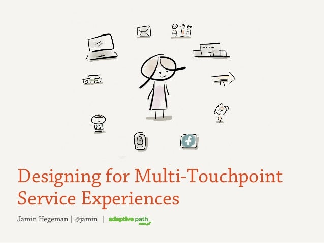 Jamin Hegeman | @jamin | Designing for Multi-Touchpoint Service Experiences