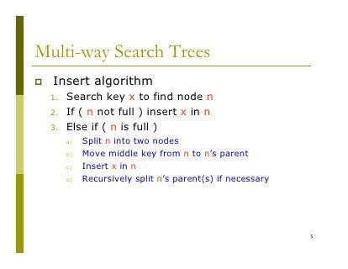 Multi Parent Tree