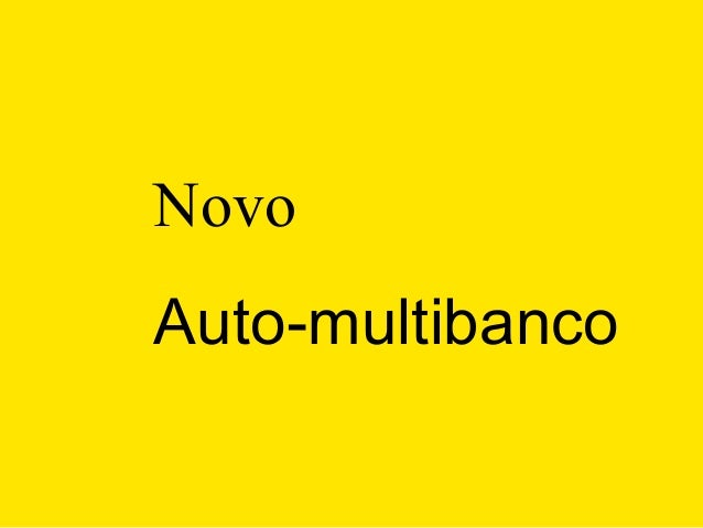 NovoAuto-multibanco