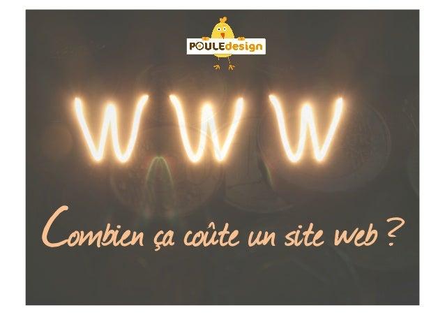 Combien ça coûte un site web ?