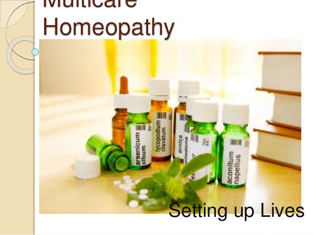Multicare Homeopathy Setting up Lives