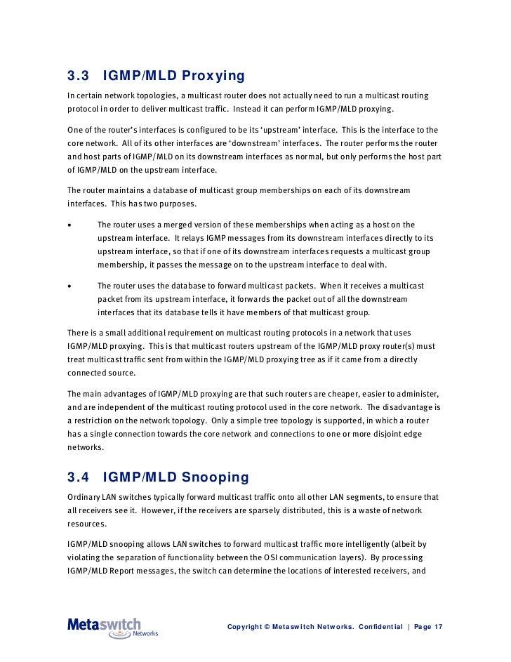 IP Multicast Explained