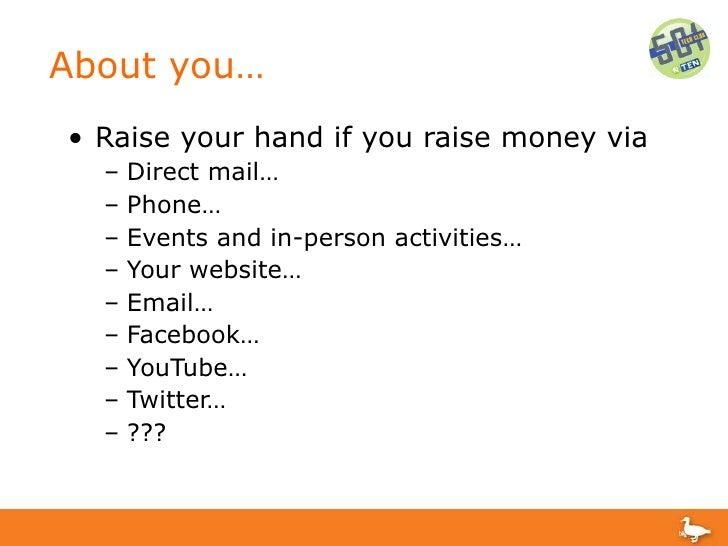 Multi-Channel Fundraising Campaigns Slide 2